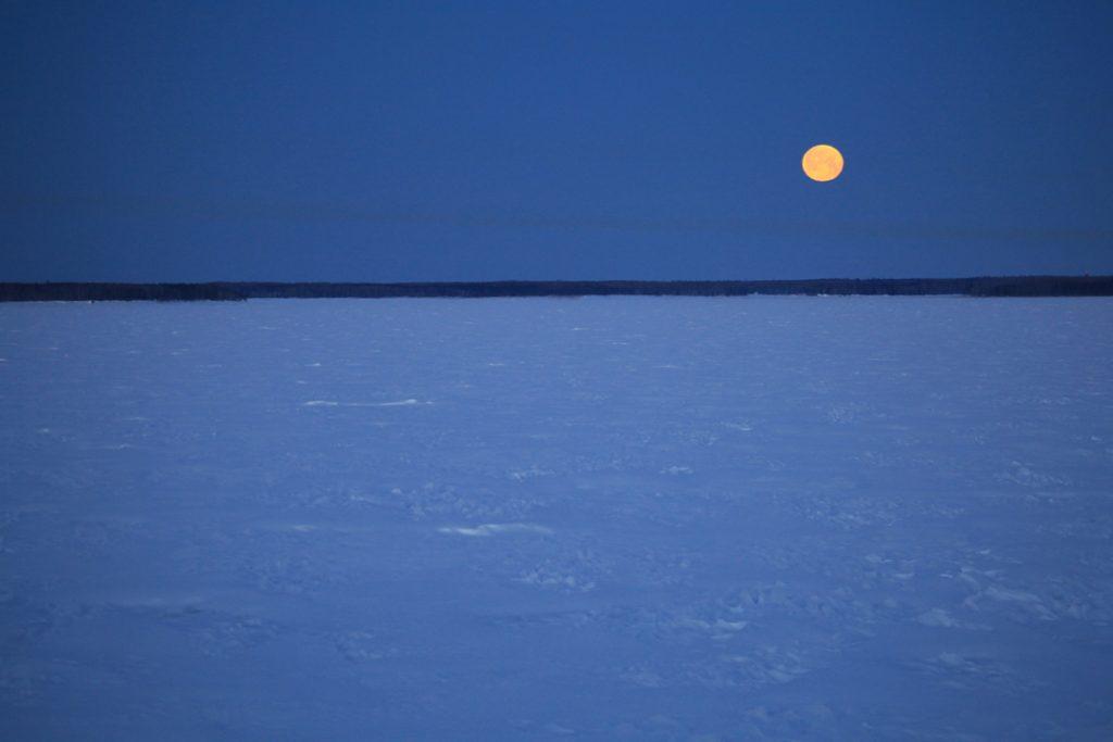 La lune de la tempête